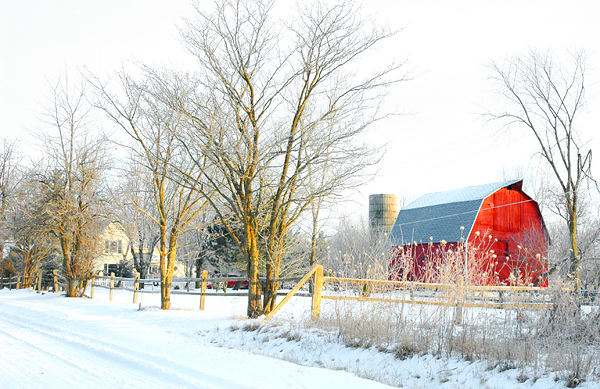 JUST ANOTHER RED BARN
