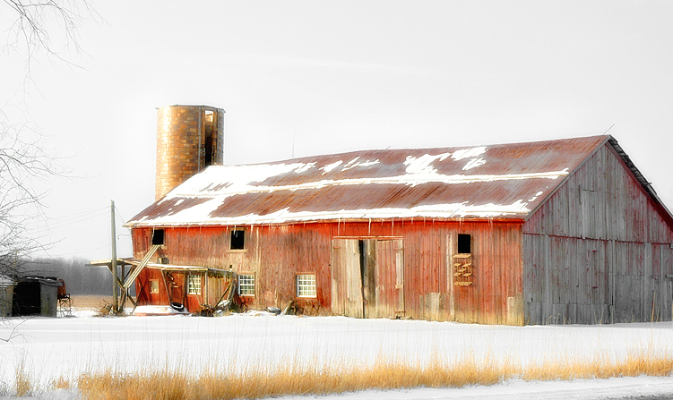 ANOTHER RED BARN