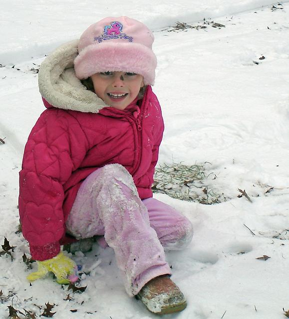 SOPHIE IN SNOW