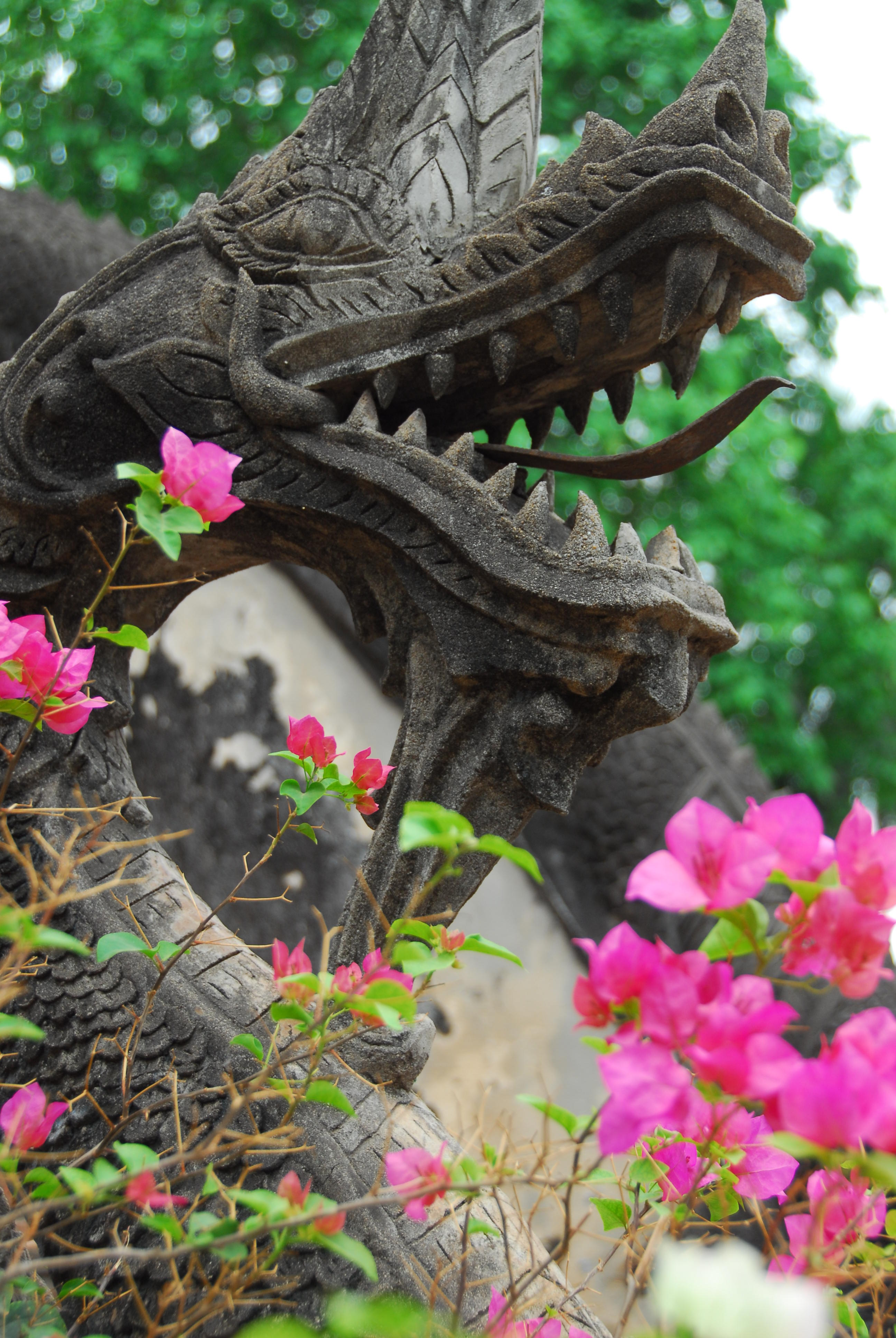 Wat Haw Phra Kaew Dragons