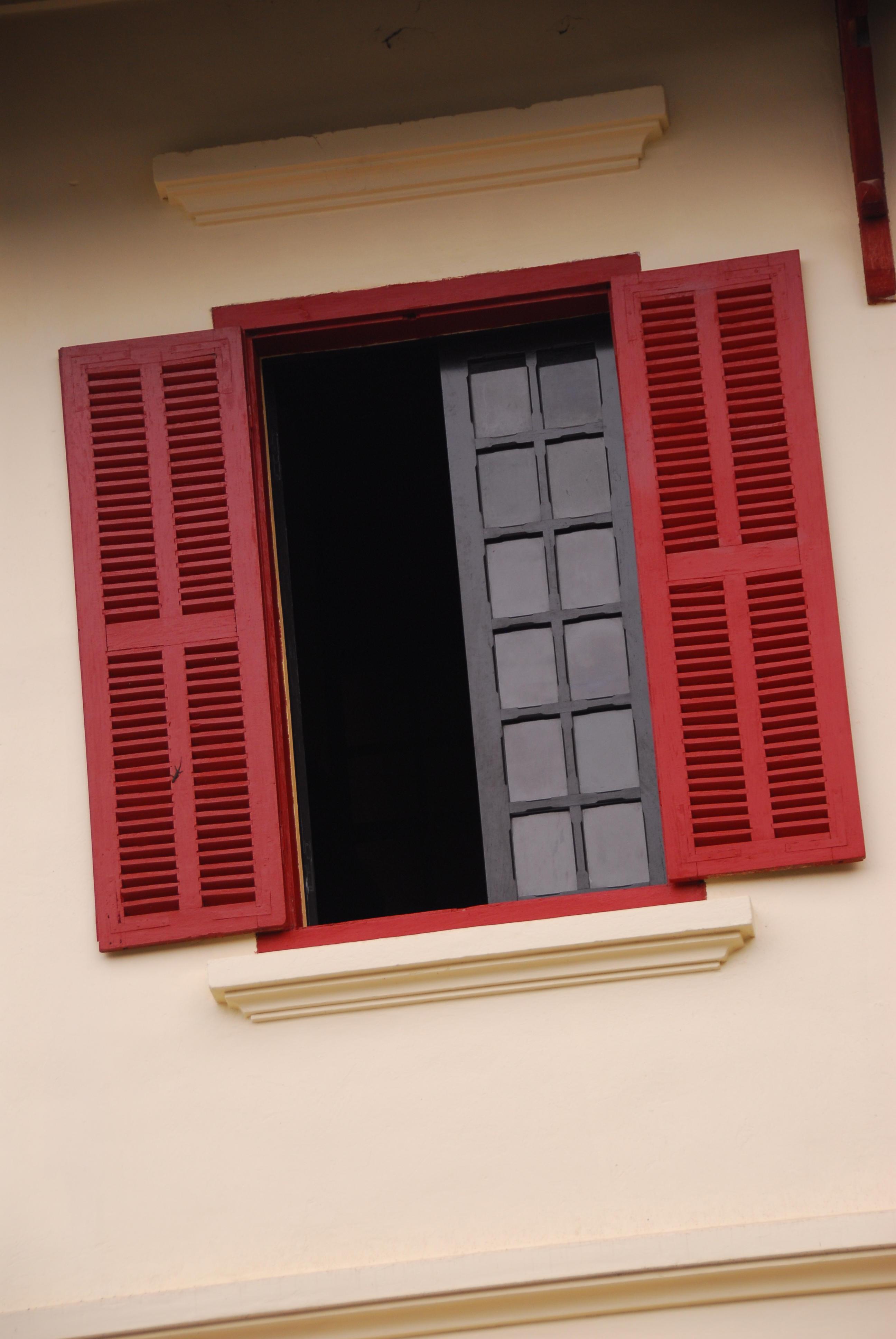 Luang Prabang Art Deco Window