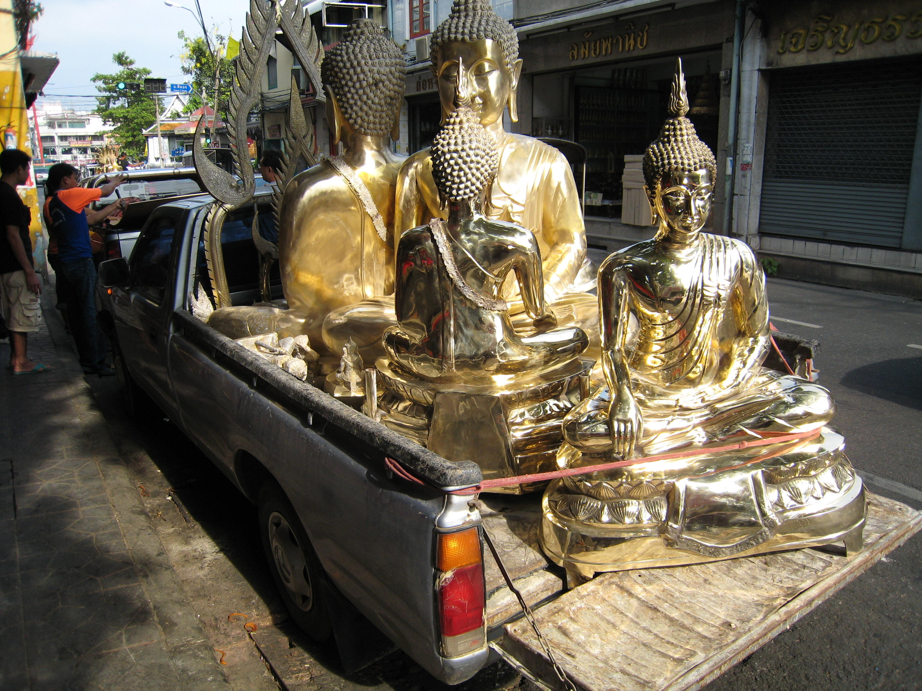 Buddhas on a Truck