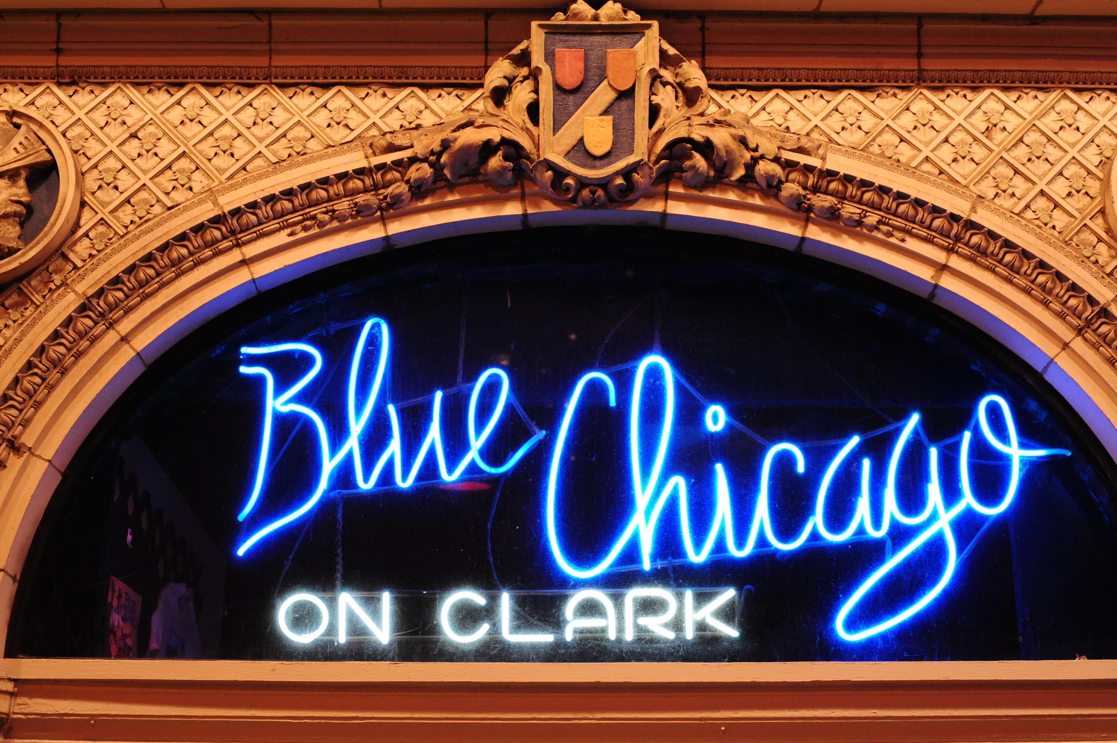 Blue Chicago on Clark.
