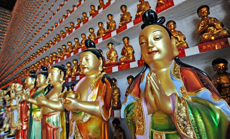 Shatin - 10,000 Buddhas Monastery