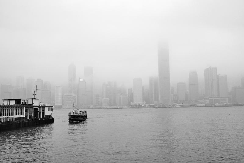 One foggy day...