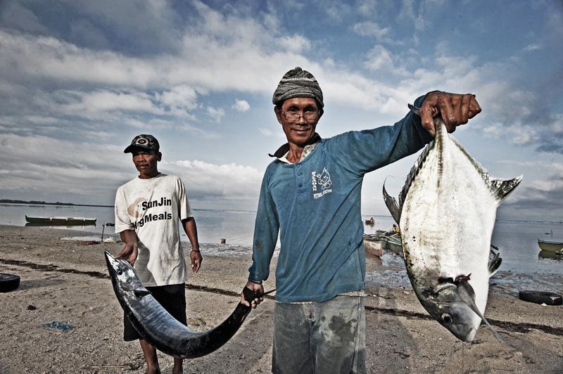 Fresh catch at San Juan