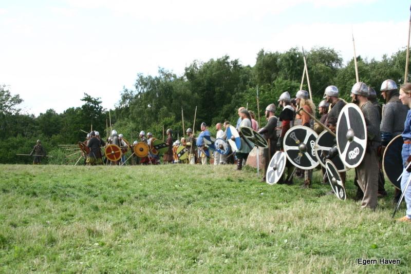 Vikinge træf ved Mosgård strand Aahus