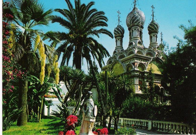 Rusian Church San Remo Italy