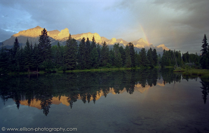 Stormy sunrise at Canmore