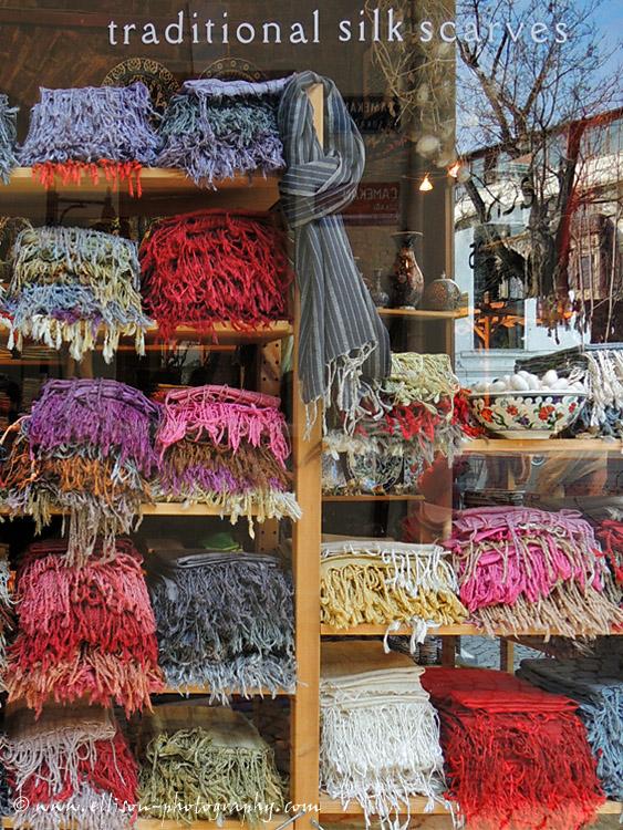 Galata scarf shop
