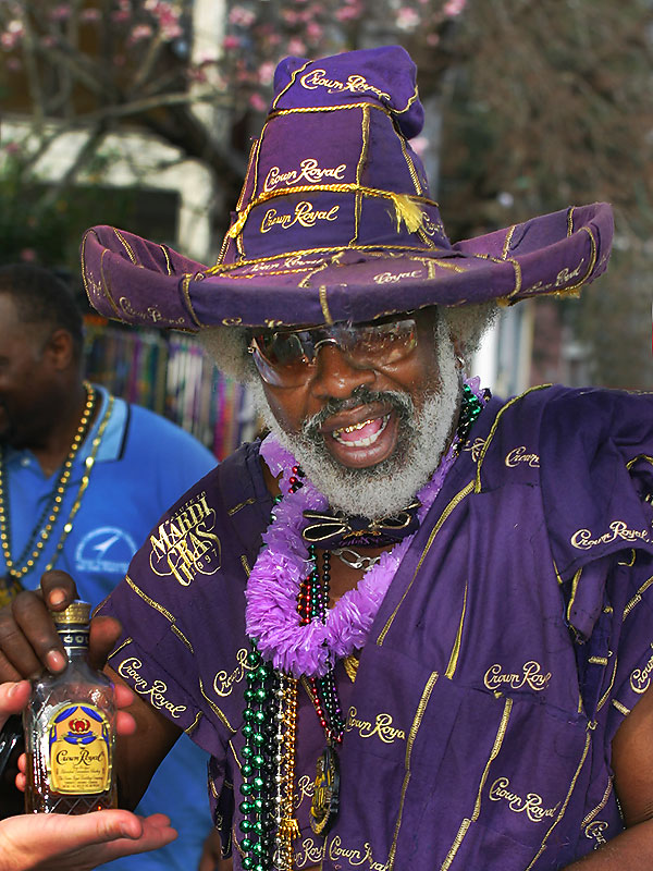 Meet Mr Crown Royal - He IS his own parade!