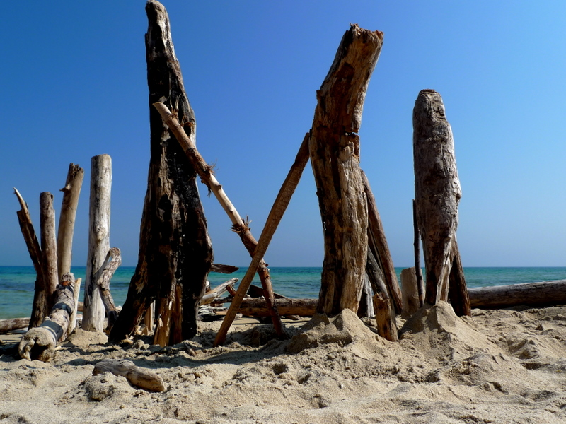 Ostuni -  Italy - The beach