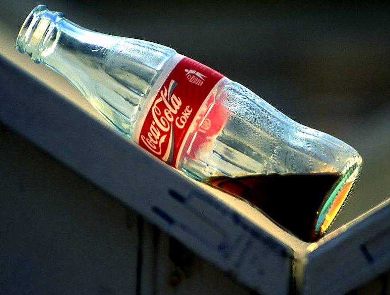 coke is  finish