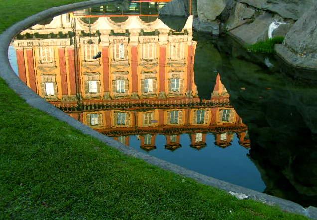 reflected  Turin - Italy