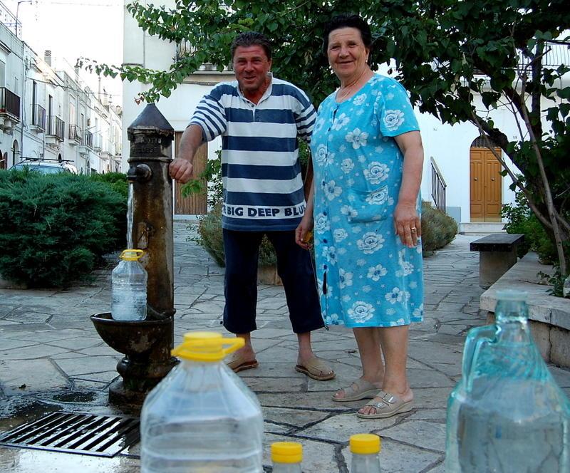 water refueling