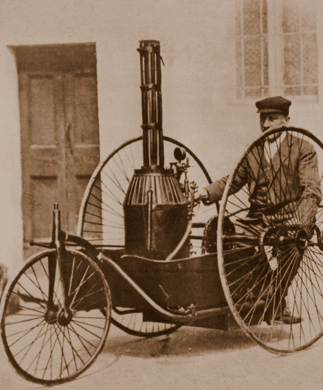 Tricycle Pecori - Italy 1891