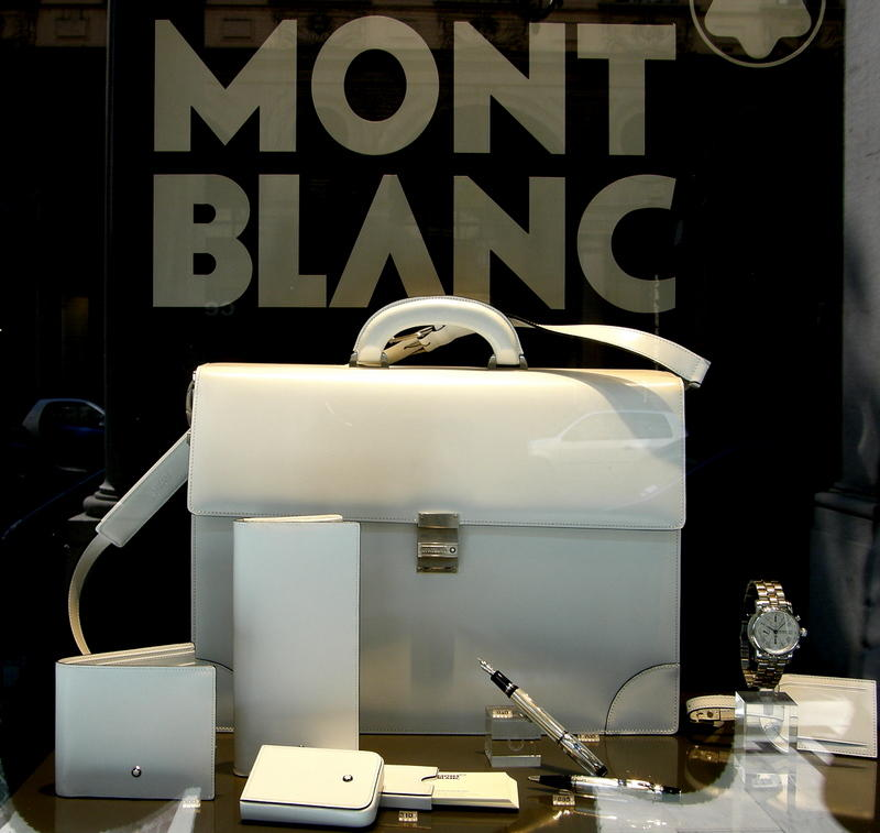 Whitish Mont Blanc