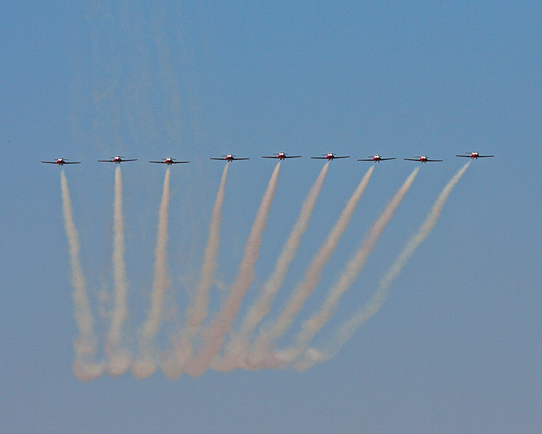 In Line Formation