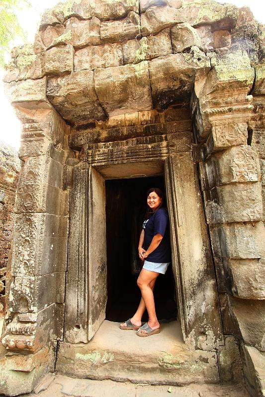 Me in Ta Phrom