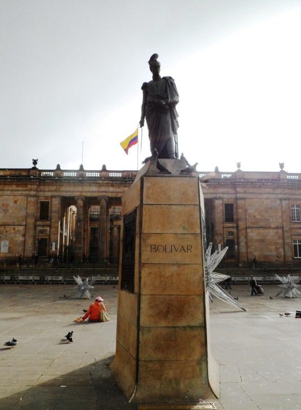 Statue of Bolivar - Plaza de Bolivar.jpg