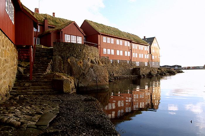 Blítt leikur veðrið við Lögmann
