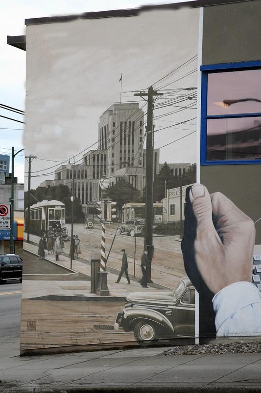 West Broadway and Yukon Street