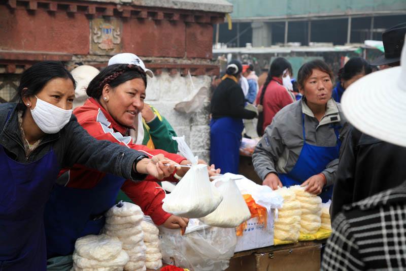 Yak Butter Vendors