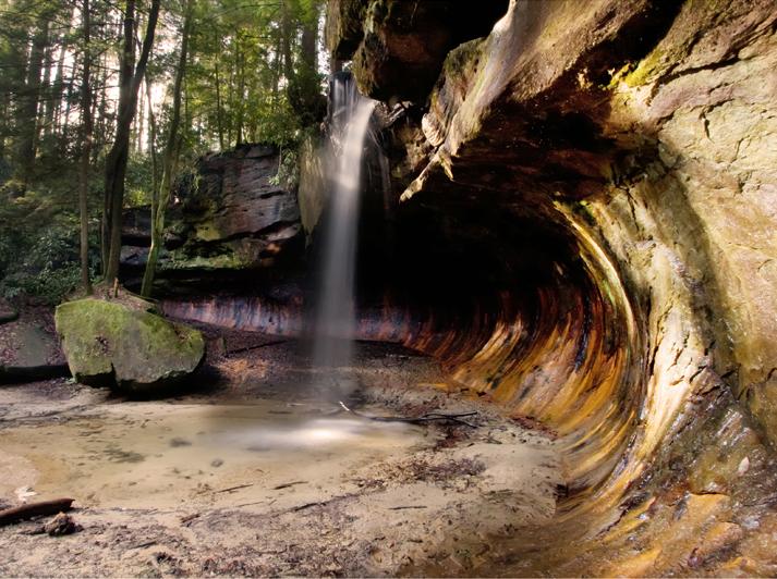 Poochs Turtle Falls