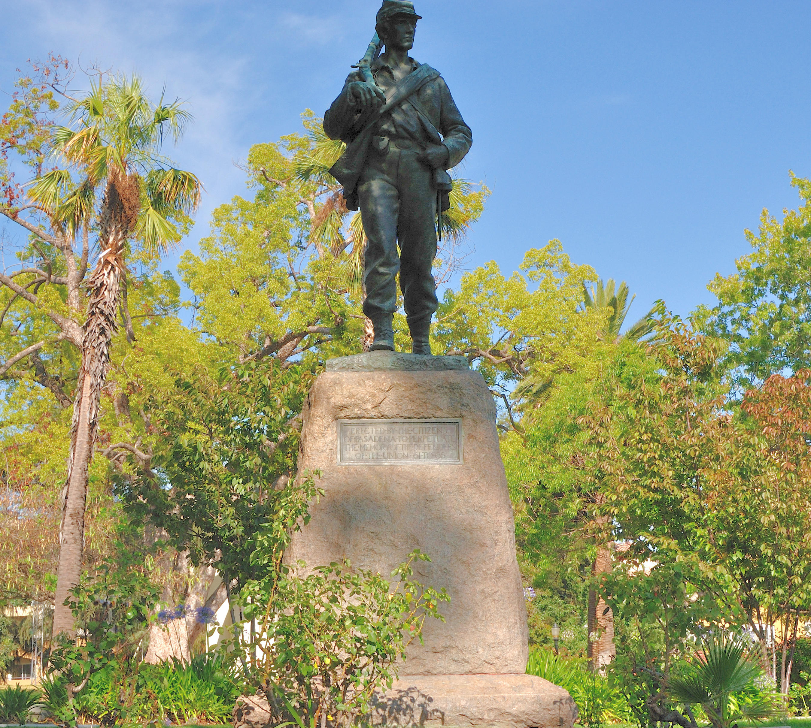 Defenders of the Union Statue Memorial Park