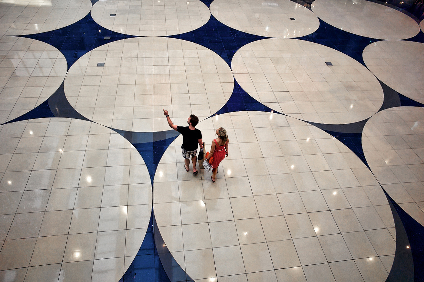 Shopping Mall Atrium