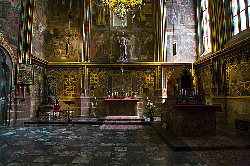 St Vitus Cathedral, side chapel