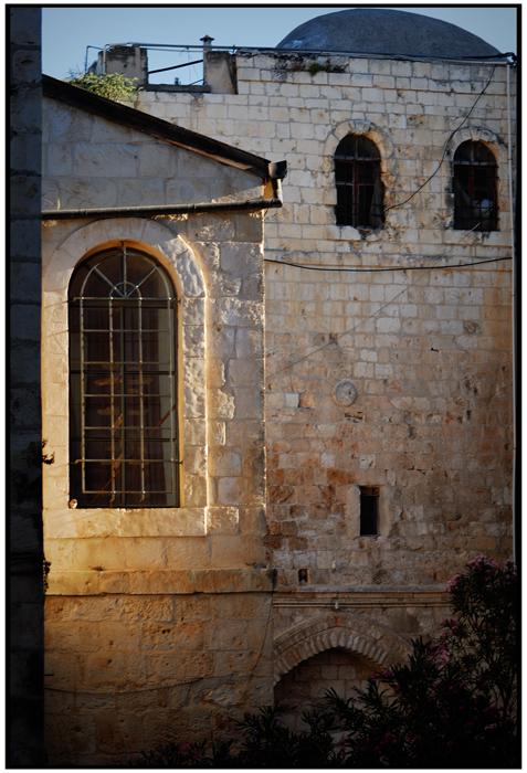 On Mount Zion - Jerusalem old city