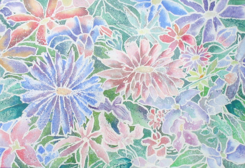 Summer Flowers  £250 inc frame