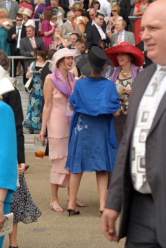 Three Women Laughing Royal Ascot