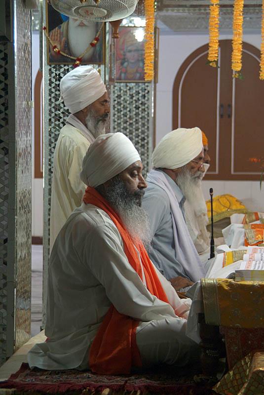 Sikh Sermon in Progress