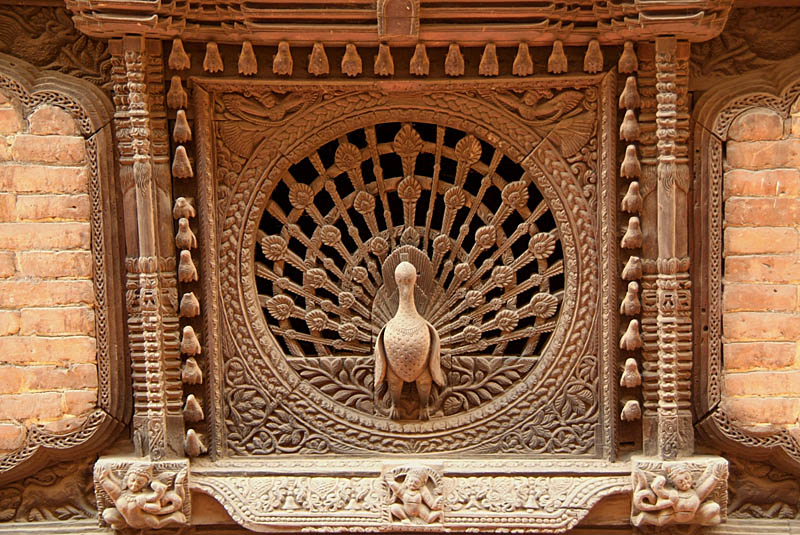 Peacock Window Bhaktapur