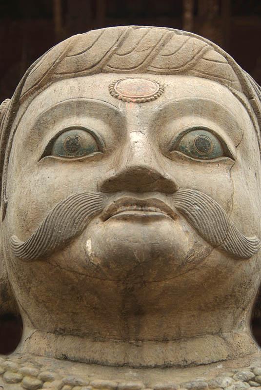 Stone Malla Wrestler Taumadhi Tol Bhaktapur