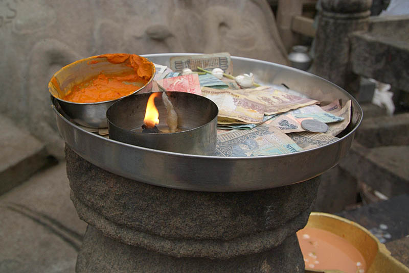 Tray of Blessings Sravanabelagola