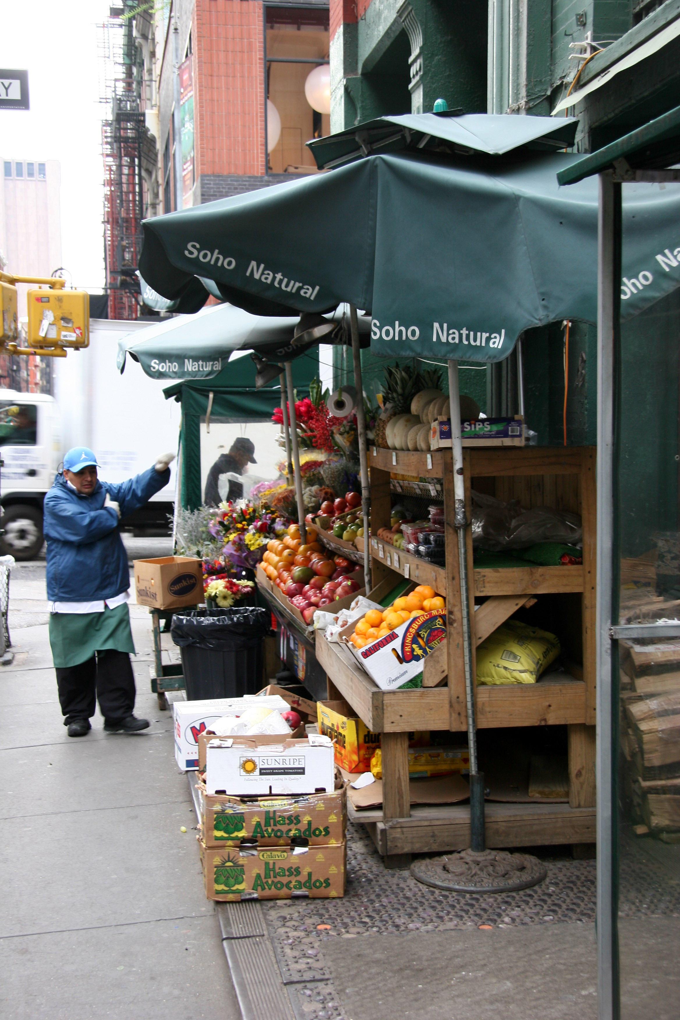 Spring Street Fruit & Vegetable Stand