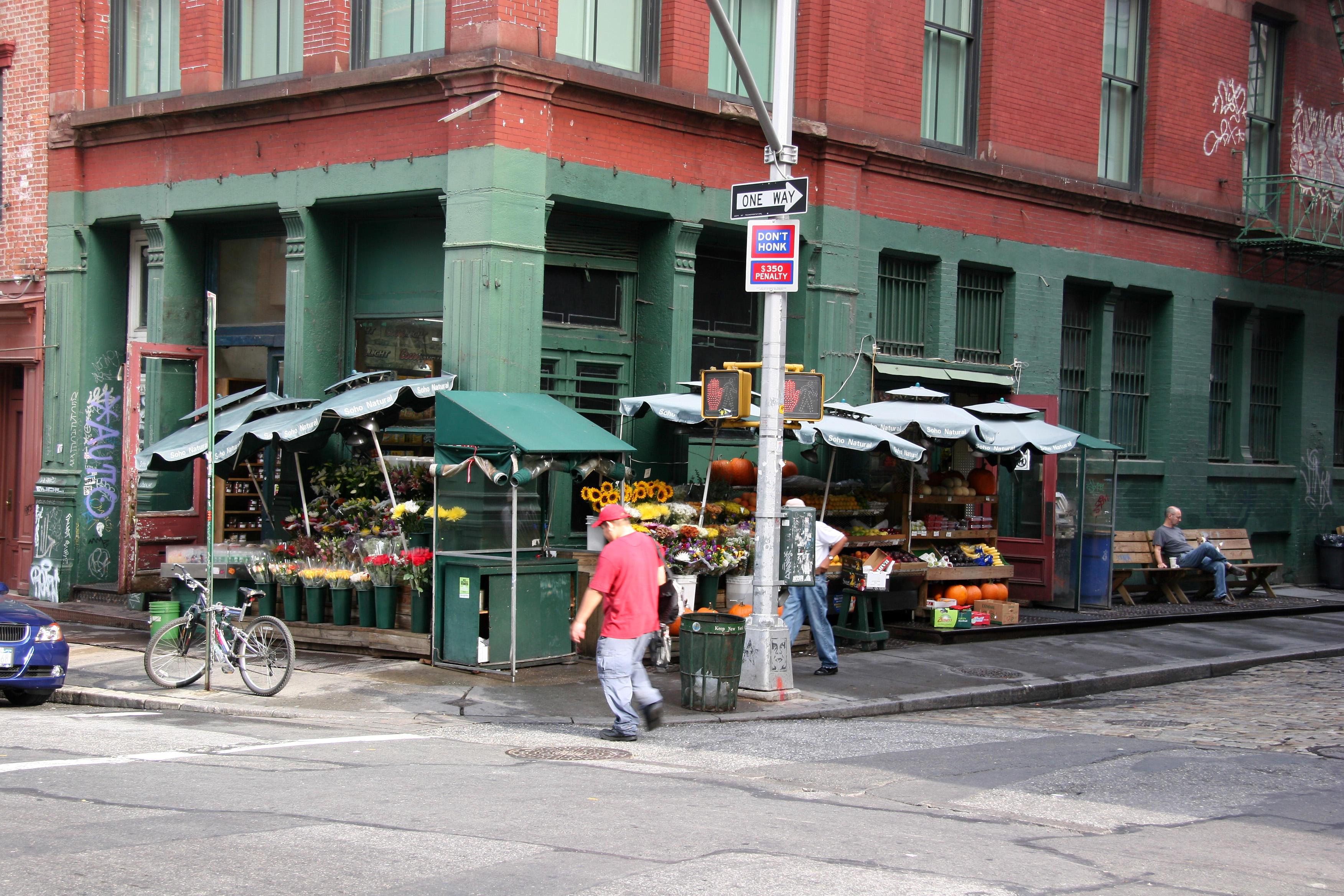 Market at Mercer Street