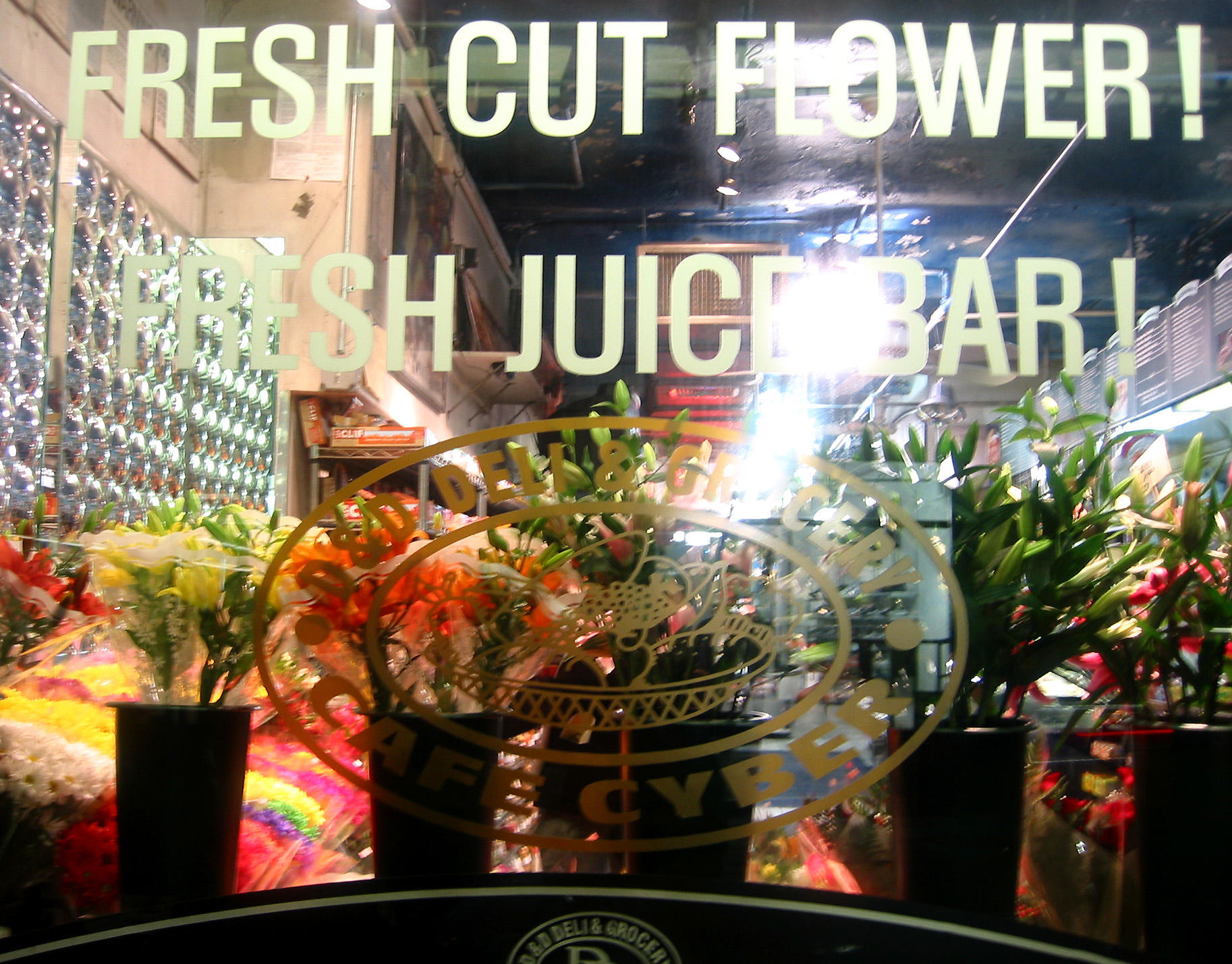 Refreshments & Flowers