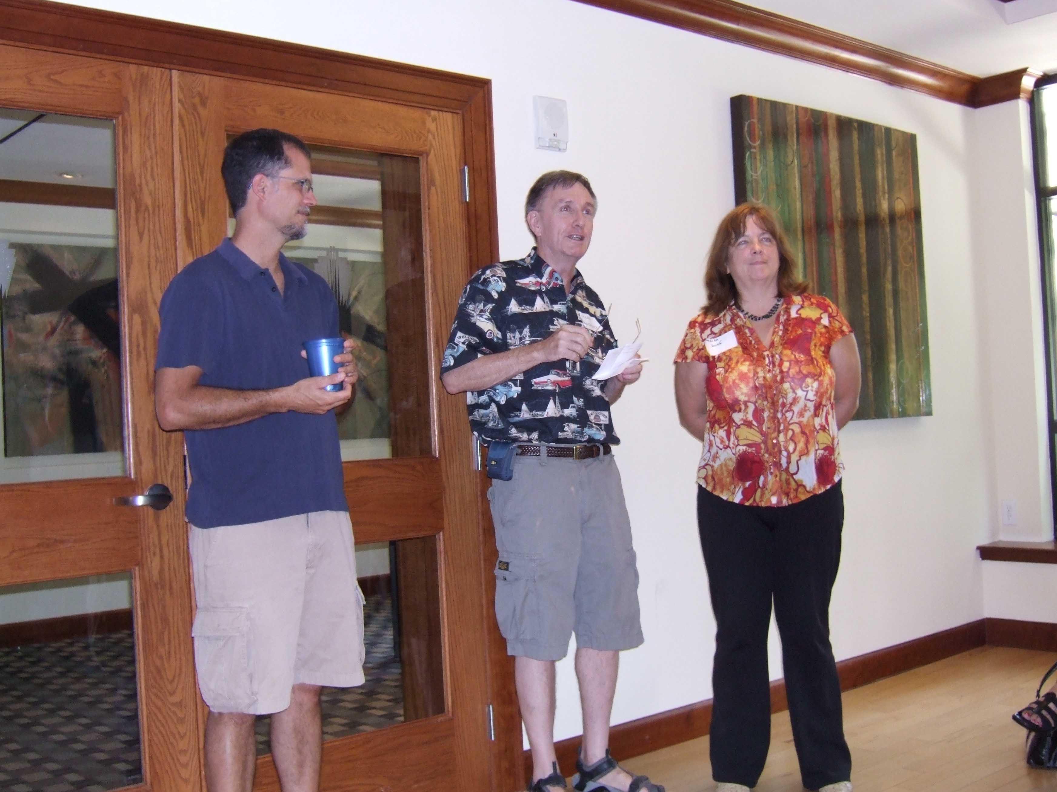 DrTrent, Merv and Barbara