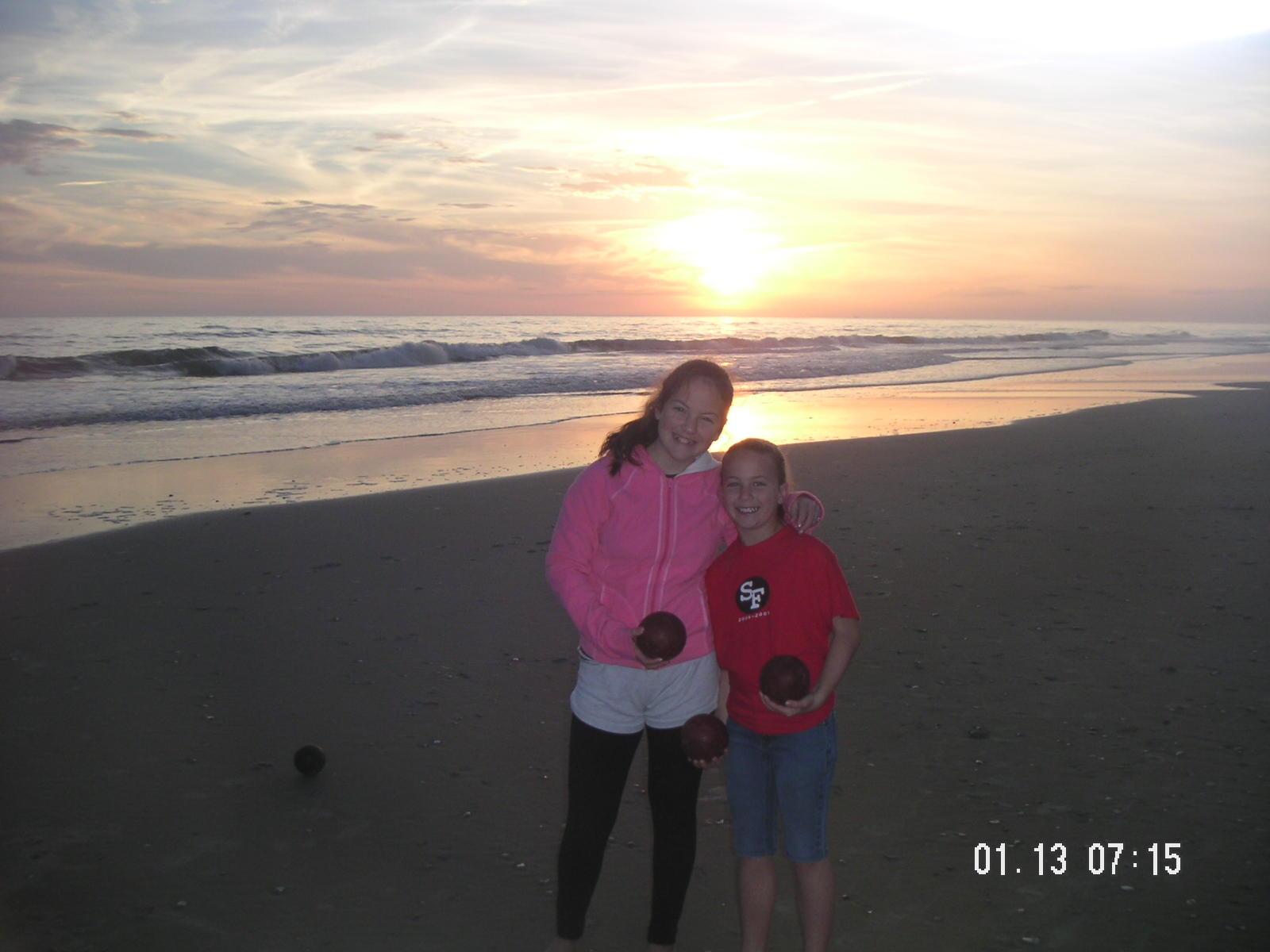 Kara and sis