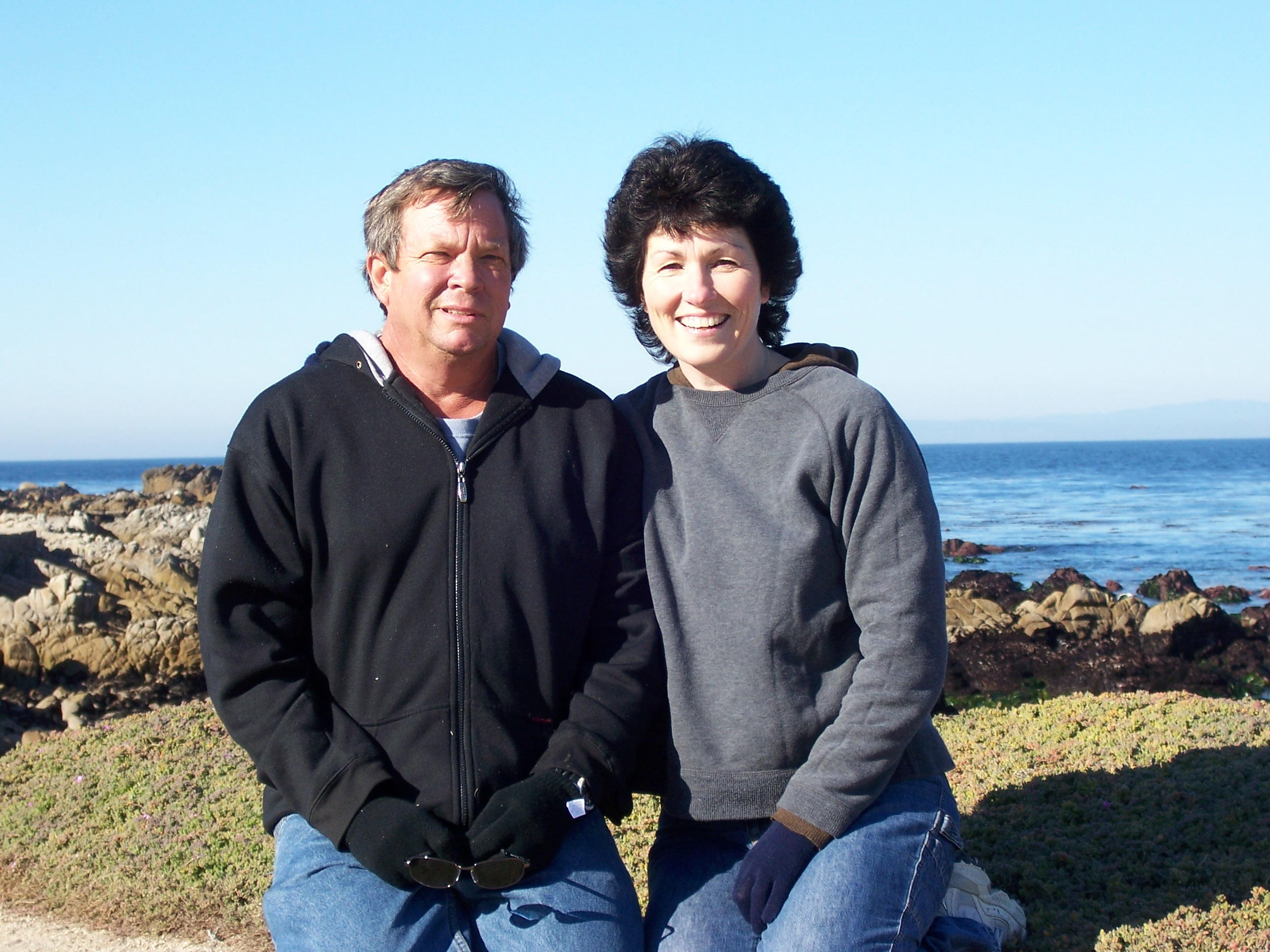 Michele and Carl in Monterey