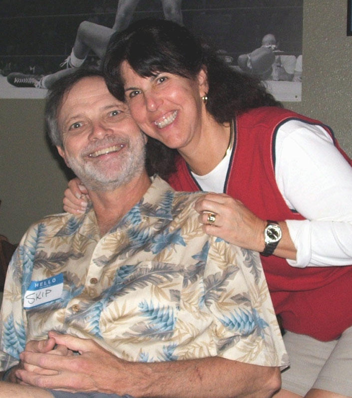 Skip and wife, BJ