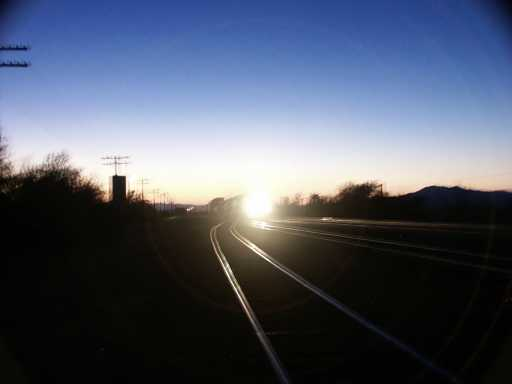 234-Fast Freight at Sunset.jpg