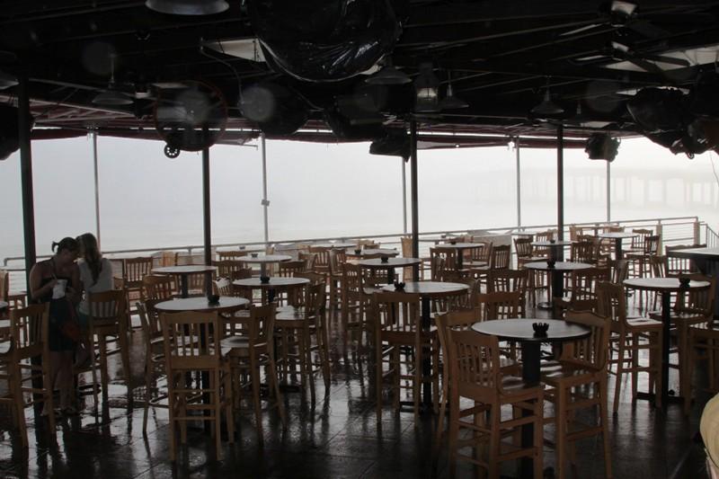 storm at Harry Ts