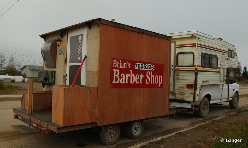 The Barber Comes to Town!!, Fort Simpson