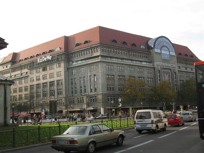 KaDeWe, 2nd largest consumer temple in Europe (Harrods of London is #1)