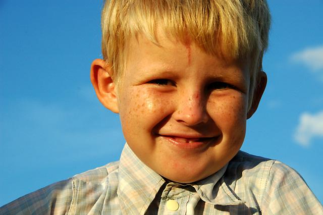 Mennonite Boy